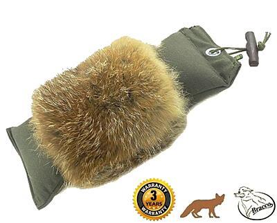 Bracco Dummy khaki s liščím kožichem 150 g - 3.0 kg