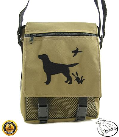 Bracco Brašna s výšivkou psa, velikost L- různé barvy a typy.