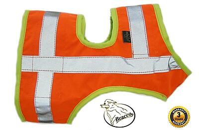 Bracco signální vesta pro psa oranž, různé velikosti.