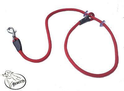 Bracco VARIABLE vodítko 8. mm, díl k psovi 2x gumový doraz 140cm - různé barvy