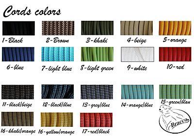 Bracco VARIABLE- díl kolem těla 8.0mm, velikost L- různé barvy